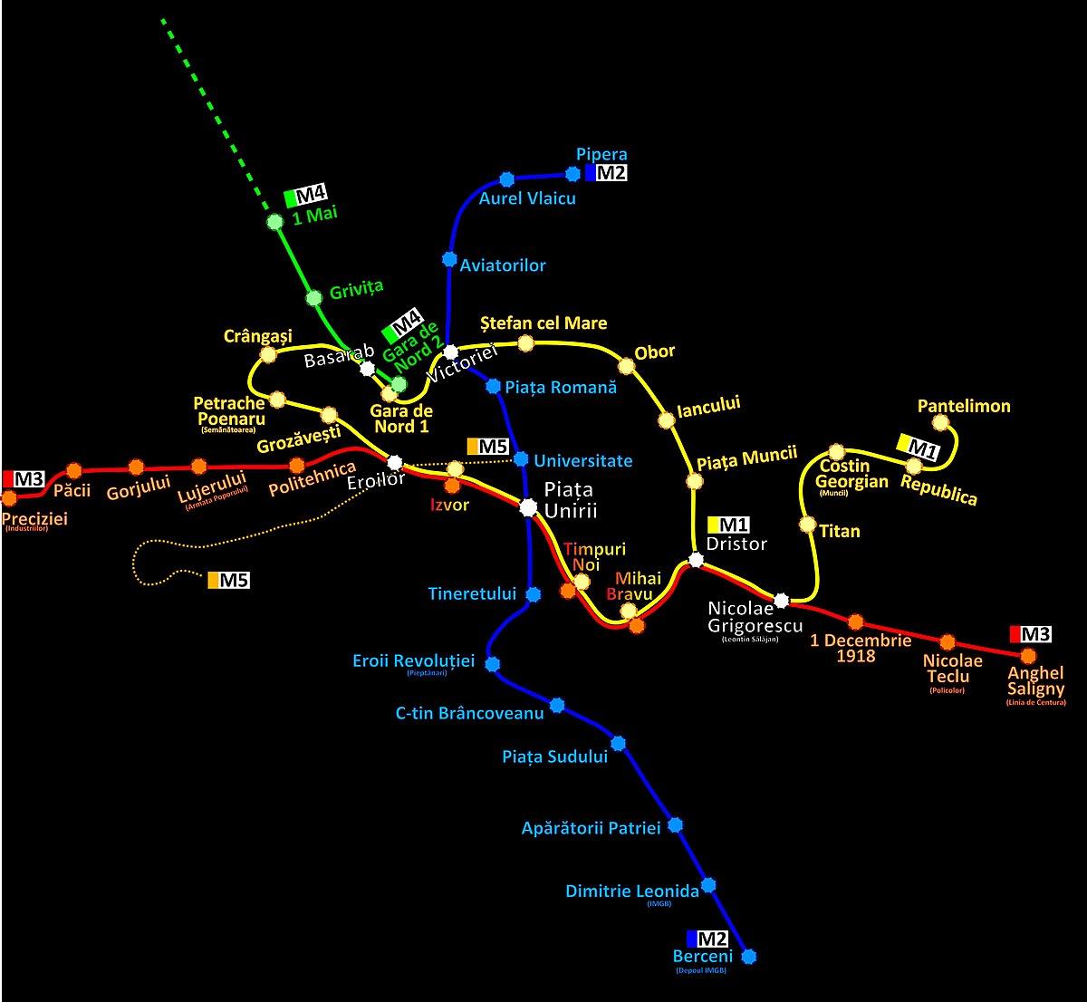 Fișier Harta Geografica Metrou Bucuresti Jpg Wikipedia