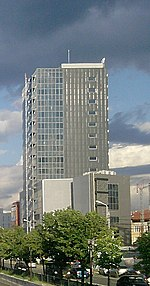 Riverside tower in Bucharest.jpg