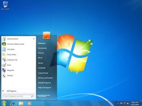 interfata windows 7 ultimate pentru xp