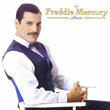 Coperta discului The Freddie Mercury Album