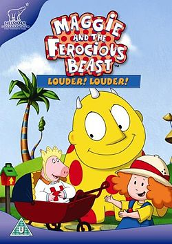First time Maggie and The Ferocious Beast Video at night.jpg