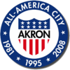 Stema City of Akron  Orașul Akron