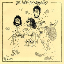 Coperta discului The Who by Numbers