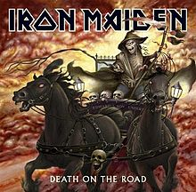 Coperta discului Death on the Road