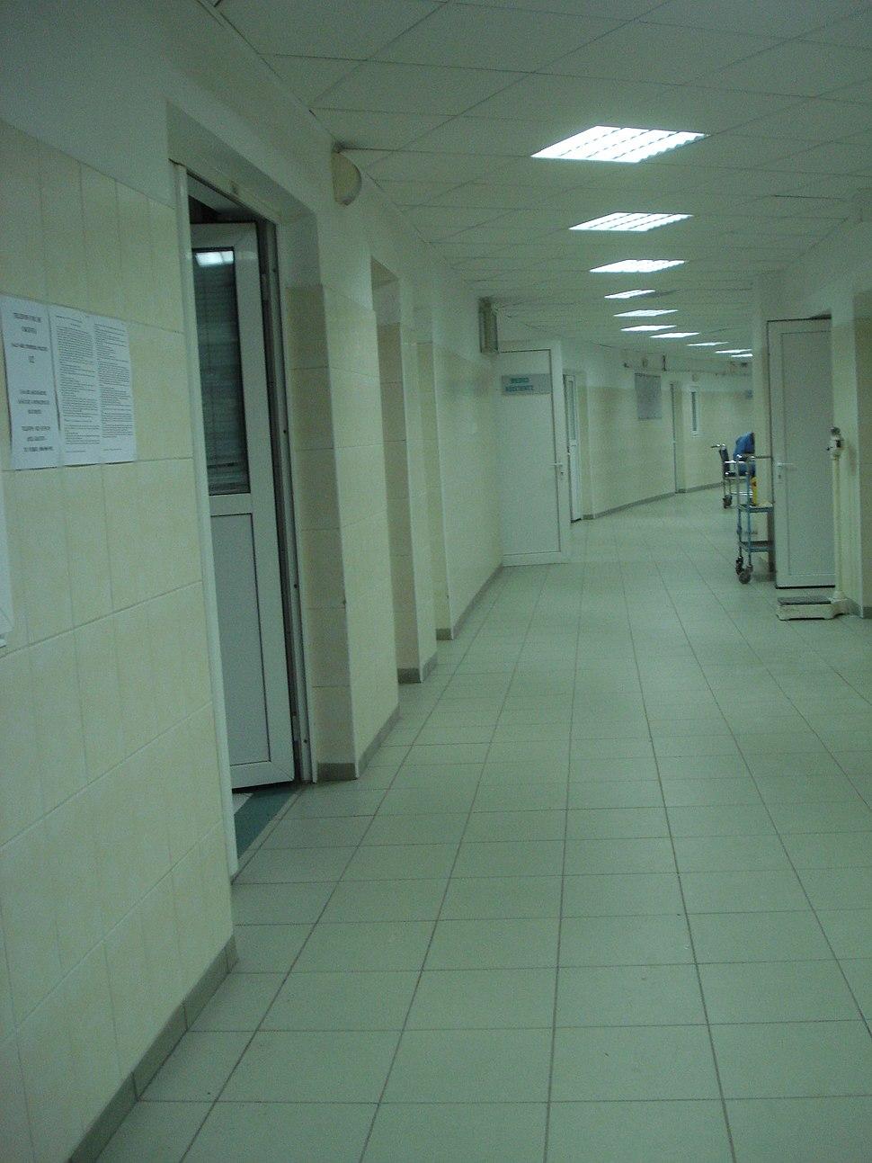 Spitalul de Urgenta Floreasca interior