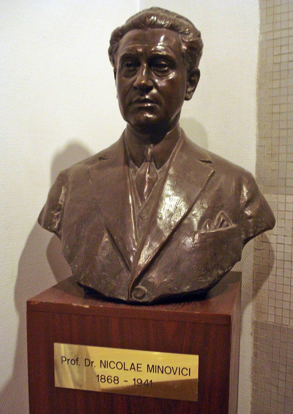 Nicolae Minovici bust