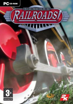 The cover of Sid Meier's Railroads!.
