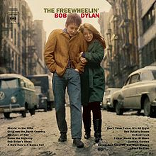 Coperta discului The Freewheelin' Bob Dylan