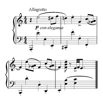 Prokofiev p-no concerto2 2nd theme.png