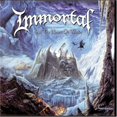 Обложка альбома Immortal «At the Heart of Winter» (1999)