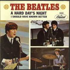 Обложка сингла The Beatles «A Hard Day's Night» (1964)