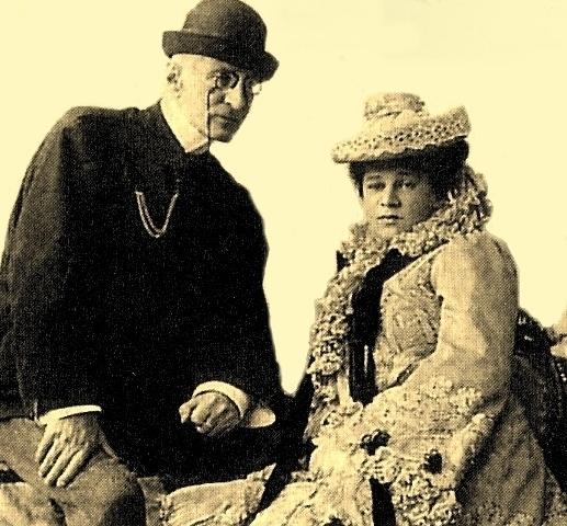 Великий князь Николай Константинович с женой Надеждой Александровной в Ташкенте