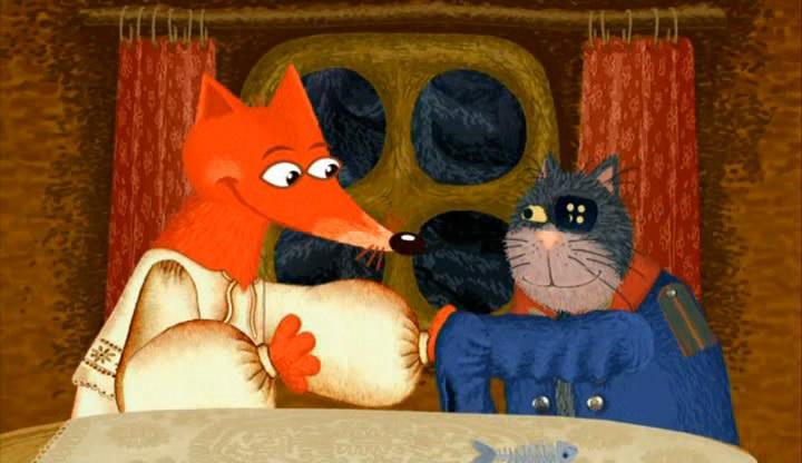 Фильм про кота и лису