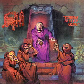 Details about  /DEATH Scream Bloody Gore Skateboard Chuck Schuldiner Check Your Head #d //200