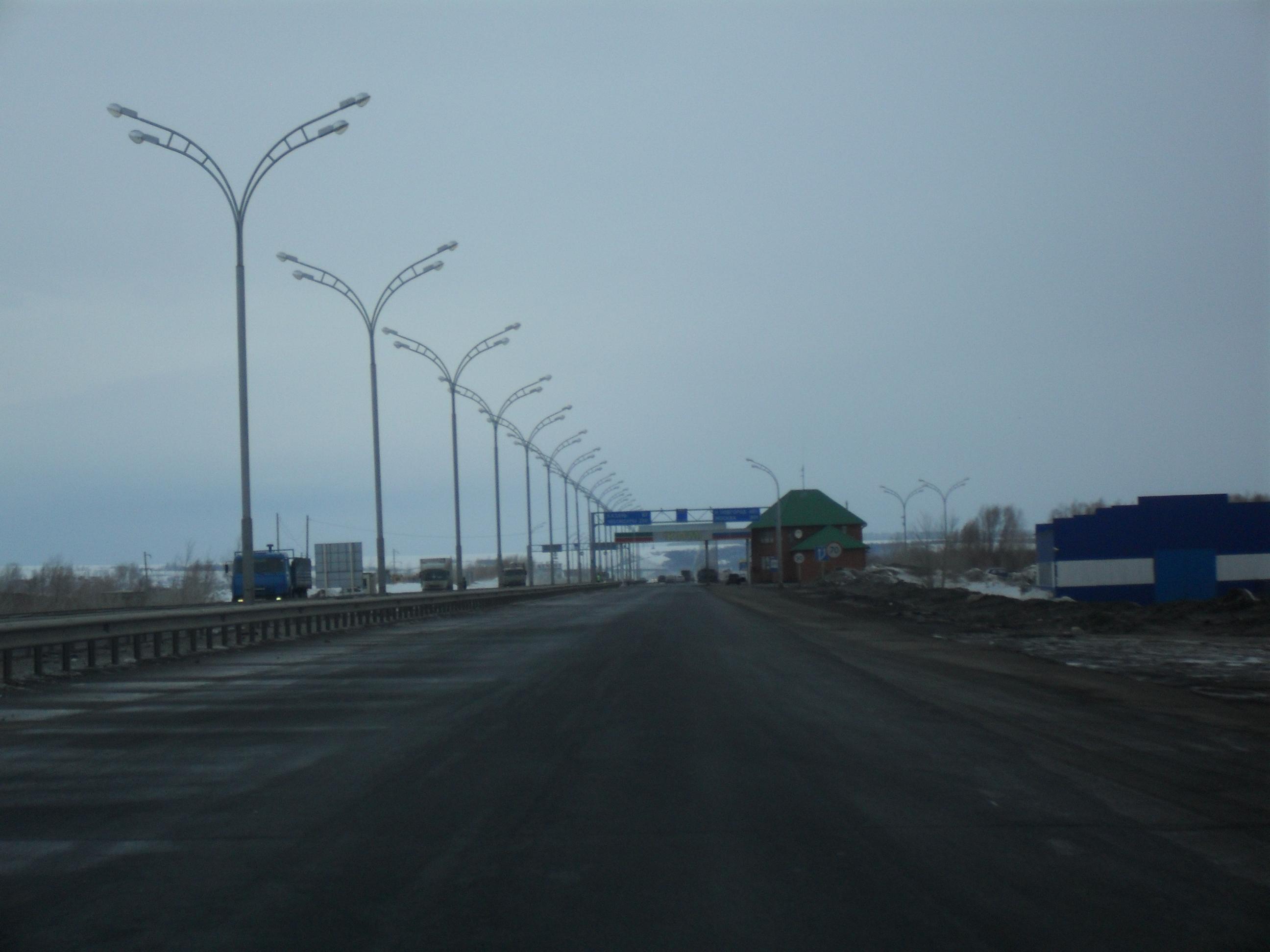 схема маршрута движения от оренбурга до самары