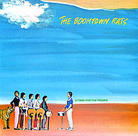 Обложка альбома The Boomtown Rats «A Tonic for the Troops» (1978)