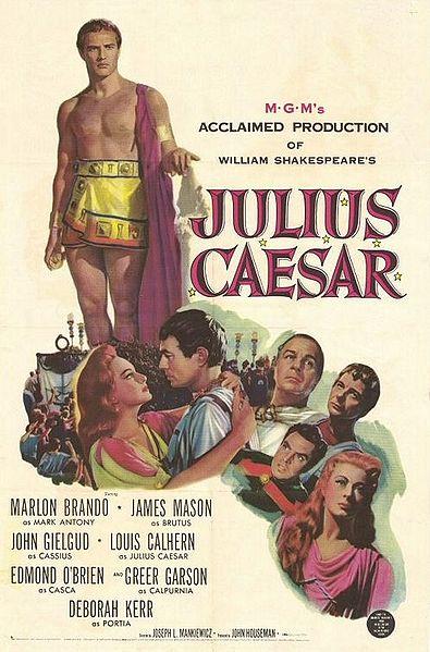 Юлий цезарь  julius caesar 1953  киного фильмы и