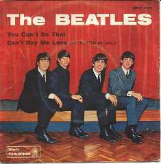 Обложка сингла The Beatles «You Can't Do That» (1964)