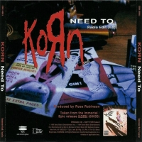 Обложка сингла Korn «Need To» (1995)