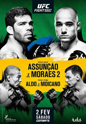 Ufc Fight Night 144 Assunsao Vs Morais 2 Vikipediya