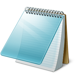 Файл:Windows Notepad Icon.png