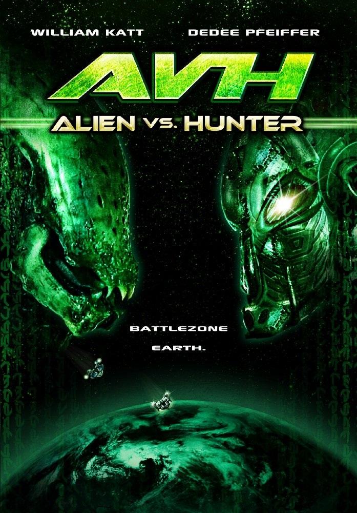Охотник против чужого поединок  avh alien vs hunter