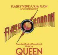 Обложка сингла ««Flash»» (Queen, 1980)
