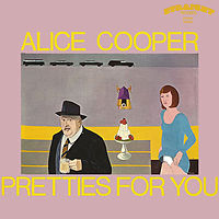 Обложка альбома Alice Cooper «Pretties for You» (1969)