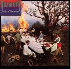 Обложка альбома Nazareth «Malice in Wonderland» (1980)
