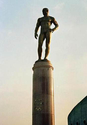 Памятник Ивану Ярыгину в Красноярске