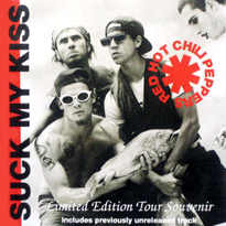Обложка сингла Red Hot Chili Peppers «Suck My Kiss» (1992)