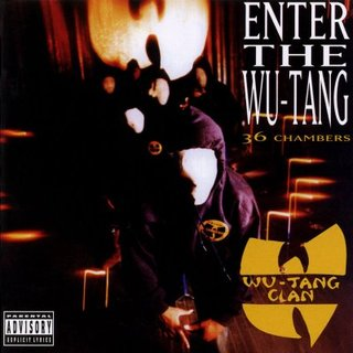 Обложка альбома Wu-Tang Clan «Enter the Wu-Tang (36 Chambers)» (1993)