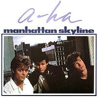 Обложка сингла «Manhattan Skyline» (a-ha, 1987)