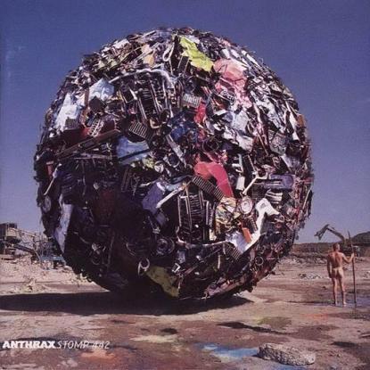 Обложка альбома Anthrax «Stomp 442» (1995)
