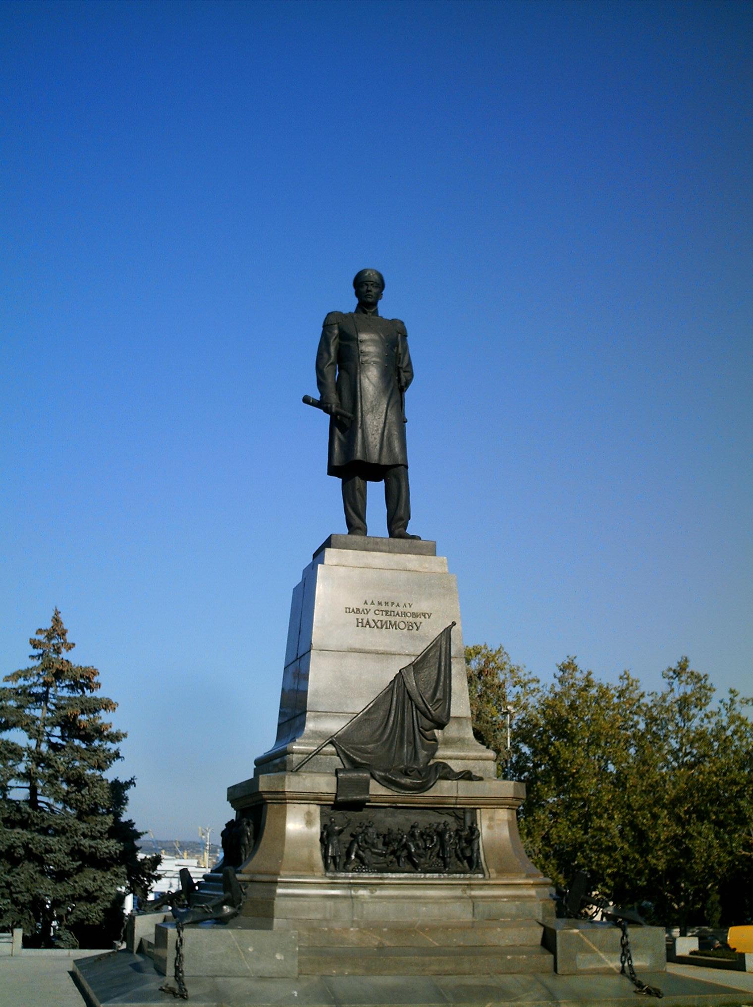 нахимов памятник севастополь
