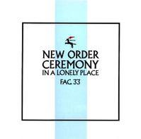 Обложка сингла «Ceremony» (New Order, 1981)
