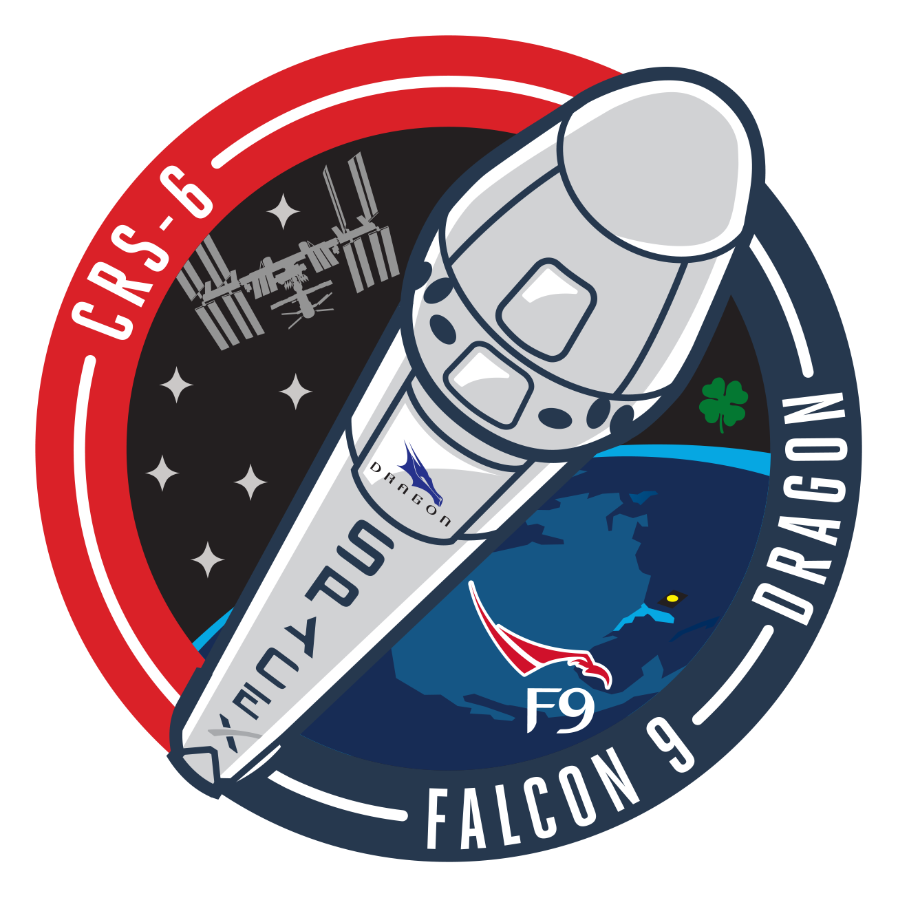spacex crs 4 logo - photo #8
