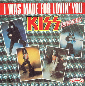 Обложка сингла «I Was Made for Lovin' You» (Kiss, (1979))