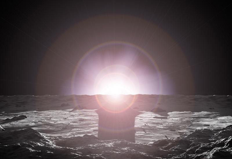 Рассвет на Меркурии