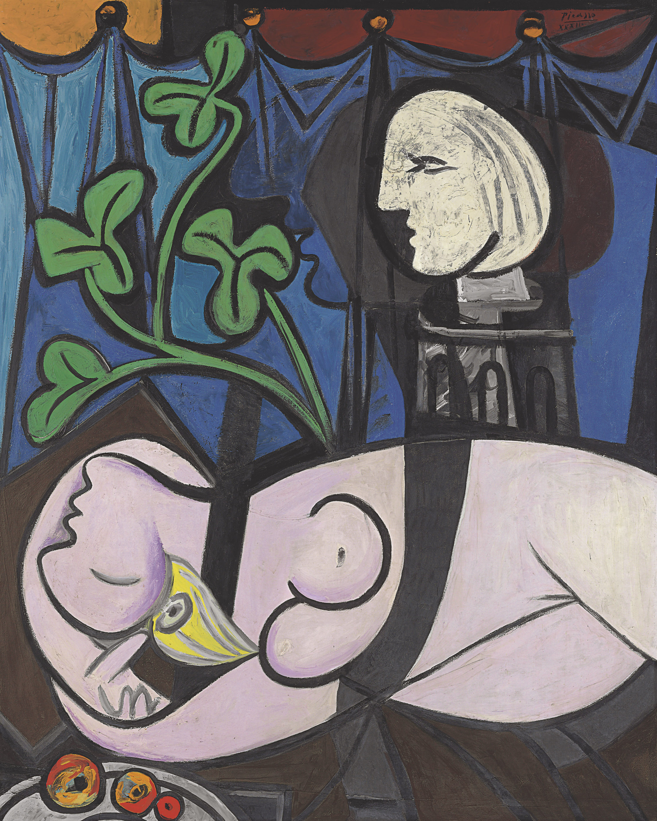 Nude Green Leaves and Bust by Picasso.jpg