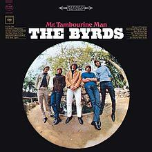 Обложка альбома The Byrds «Mr. Tambourine Man» (1965)