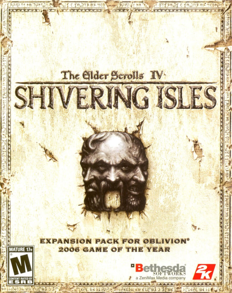 PC Cover elder scrolls 4 shivering isles, USA.jpg