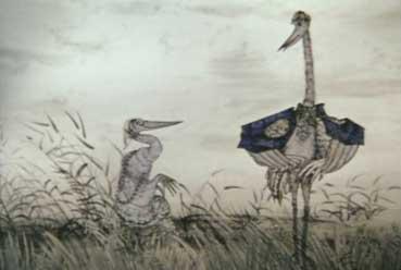 Цапля и журавль (мультфильм) — Википедия