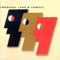 Обложка альбома Emerson, Lake and Powell «Emerson, Lake and Powell» (1986)