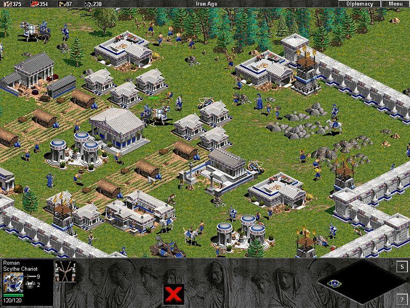 Скриншот из The Rise of Rome