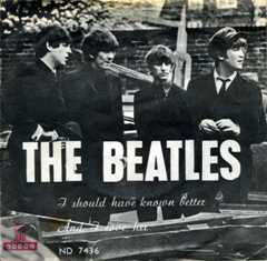 Обложка сингла The Beatles «I Should Have Known Better» (1964)
