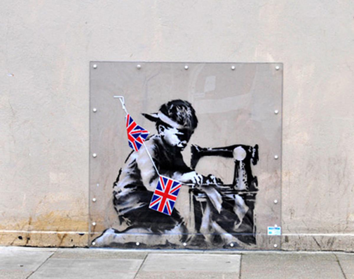 Рабский труд (граффити) — Википедия