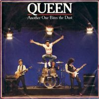 Обложка сингла «Another One Bites the Dust» (Queen, 1980)