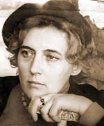Лариса Анатольевна Попугаева, начало 1960-х годов