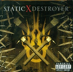 Обложка сингла Static-X «Destroyer» (2007)